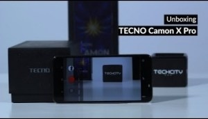 Video: TECNO Camon X Pro Unboxing and First Impressions – Techpoint